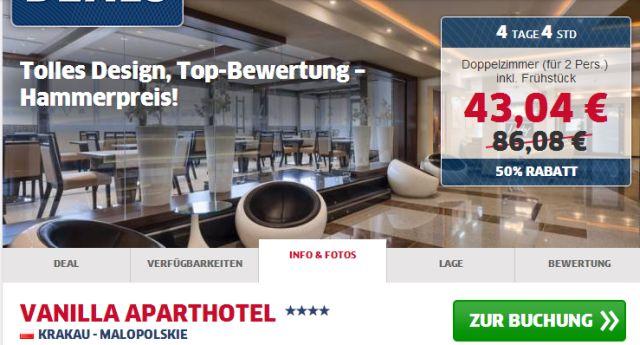 4 Hotel In Krakau Inkl Fruhstuck Fur Super Gunstige 21 52 Pro Person