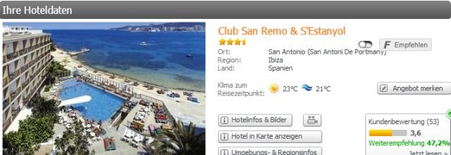 Ibiza Deal